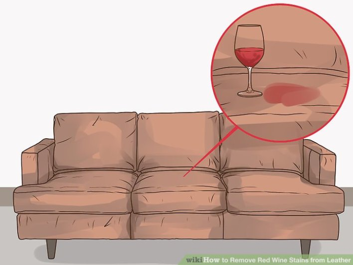 how to remove set in red wine stains
