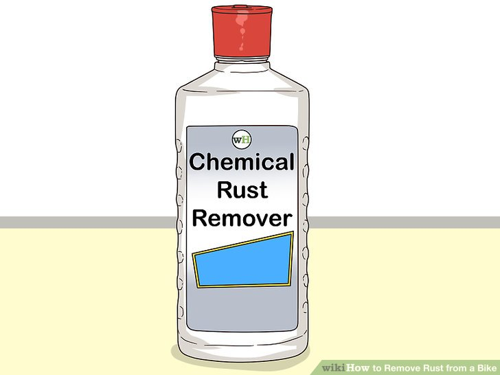 Use chemical rust remover if no other method works.