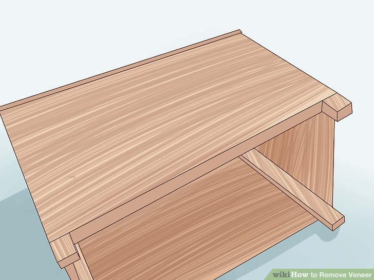 How To Remove Veneer From Wood