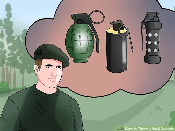 Pick the correct grenade for your job.