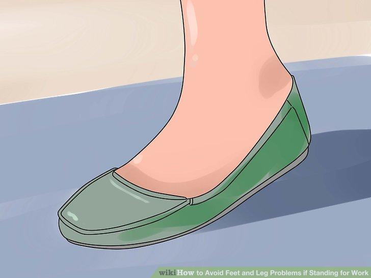 Tragen Sie Schuhe, die gut passen.