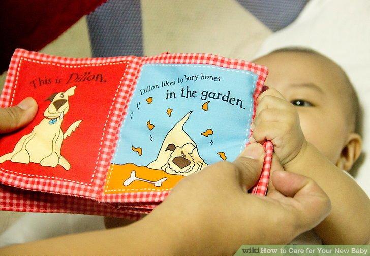 Lesen Sie mit Ihrem Baby.