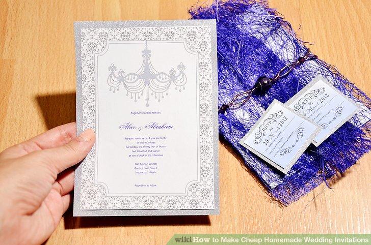 Image Led Make Homemade Wedding Invitations Step 11