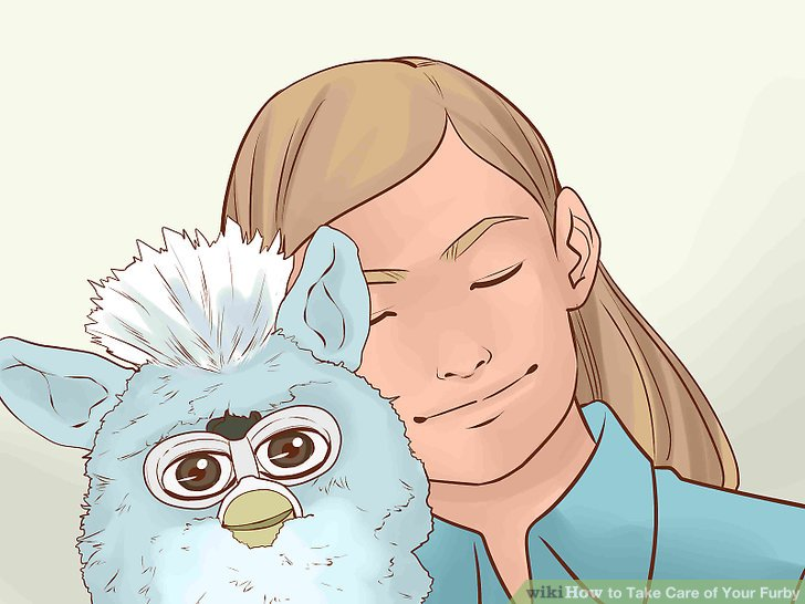 Have fun with your Furby.