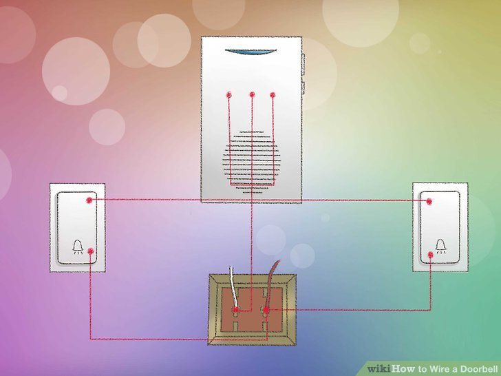 Doorbell Two Chimes Wiring Diagram Further Doorbell Transformer Wiring