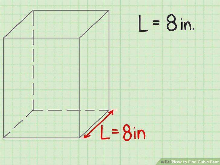 Messen Sie die Länge des Objekts.