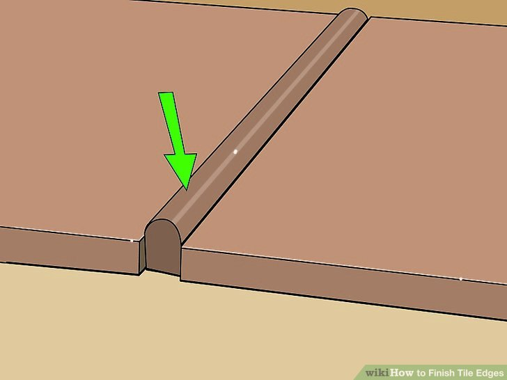 How To Finish Tile Edges With Pictures WikiHow