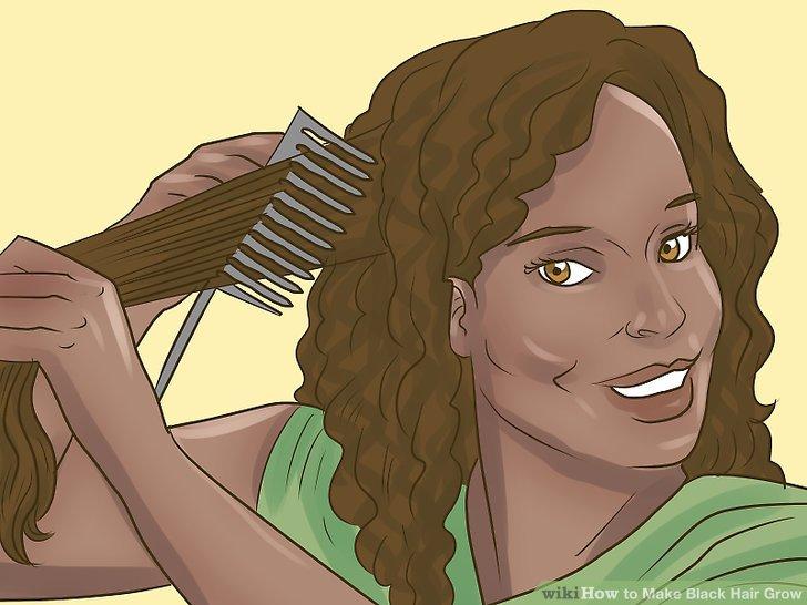 Entwirren Sie, wenn Ihre Haare feucht sind.