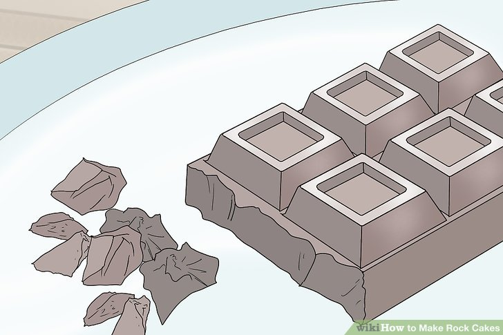 Tatlı kekler için kurutulmuş meyve yerine çikolatayı değiştirin.