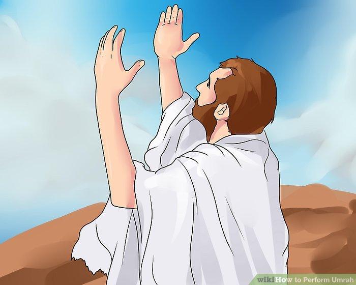 Biete Gott Lob an, während du Tawwaf aufführst.