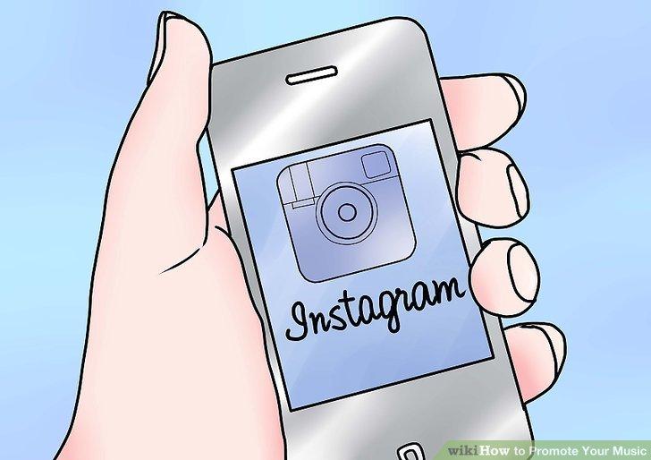 Bewerben Sie Ihre Musik auf Instagram.