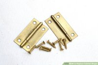 3 Ways to Replace Cabinet Hinges - wikiHow