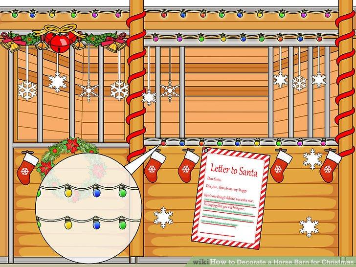 Christmas Decorations For Horse Stall   Psoriasisguru.com