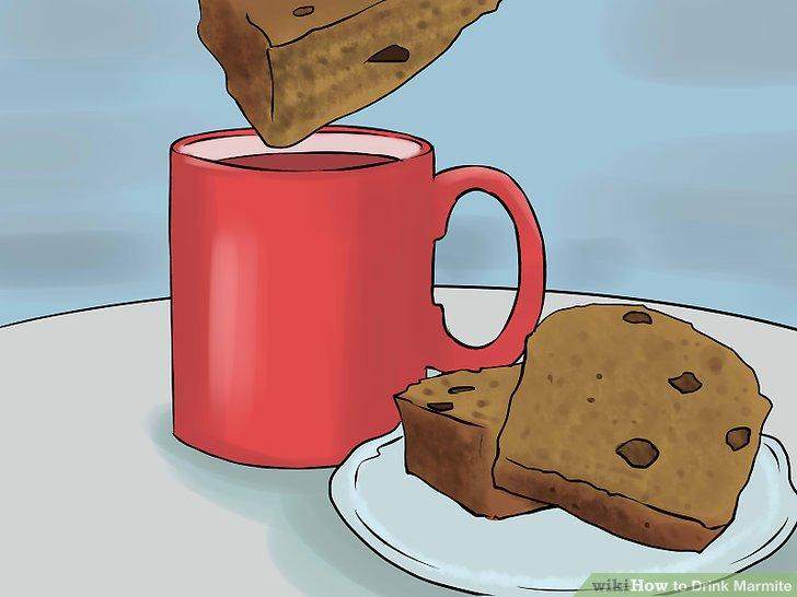 Wenn Sie möchten, tauchen Sie Butterbrot in Ihre Brühe, um daraus eine Mahlzeit zu machen.