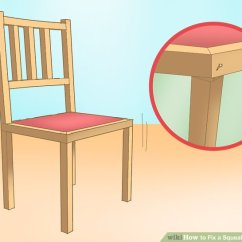 Fixing Wooden Chairs Chair And A Half Rocker With Ottoman How To Fix Squeaky Desk 12 Steps Pictures Image Titled Step 8