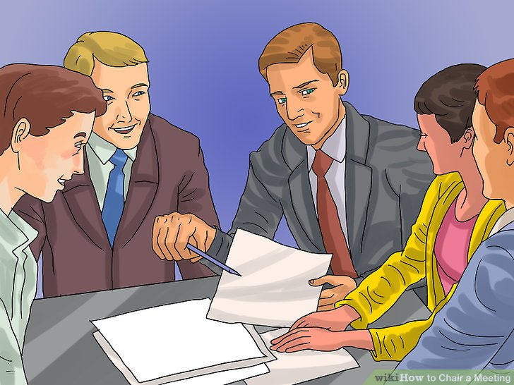 what is a chairperson in meeting chair with wheels how to pictures wikihow image titled step 9