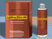 3 Ways to Care for Leather Furniture - wikiHow