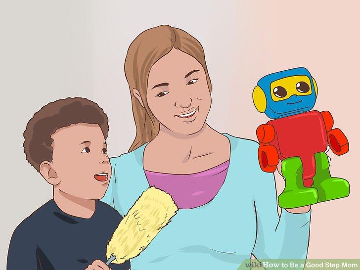 Verbringen Sie Zeit alleine mit Ihren Stiefkindern.