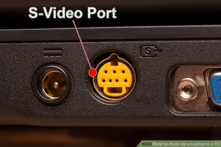 See which video input port(s) your TV has.