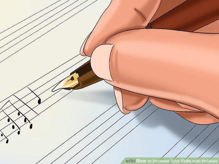 Beginnen Sie auch mit dem Songwriting.