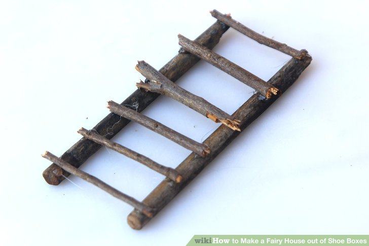 Create ladders with craft sticks or twigs.