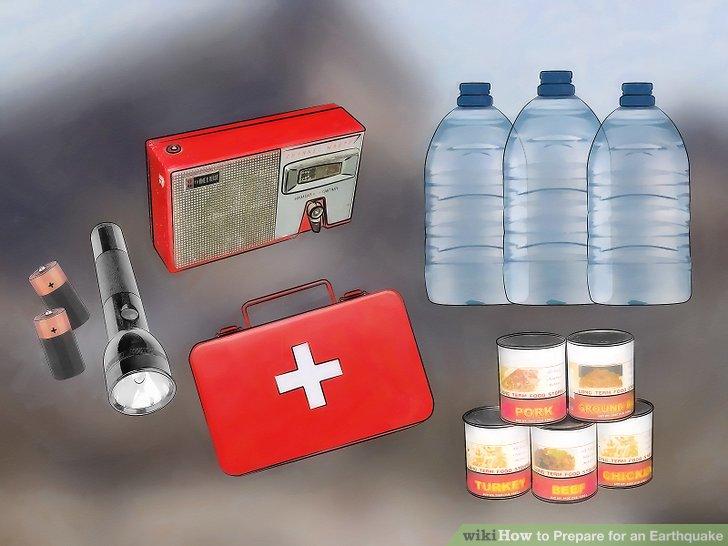 Bereiten Sie ein Notfall-Kit vor und informieren Sie den gesamten Haushalt über seinen Standort.