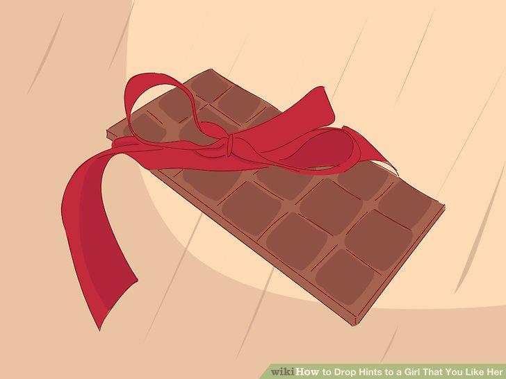 Gib ihr ein lustiges, süßes Geschenk.
