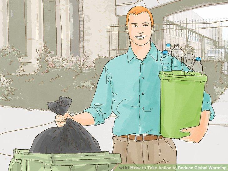 Recyceln und wiederverwenden, was Sie können.