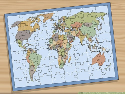 small resolution of 3 Ways to Memorise the Locations of Countries on a World Map