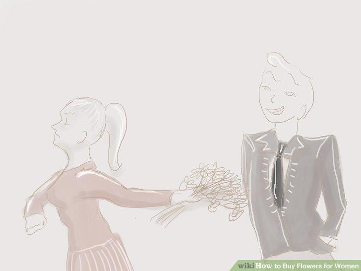 Senden Sie keine Blumen, um jemanden zu beeindrucken.