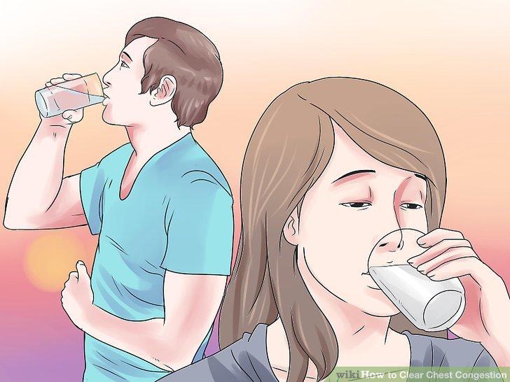 Halten Sie gut hydratisiert.