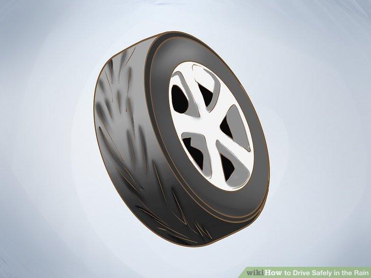 Pflegen Sie Ihre Reifen.