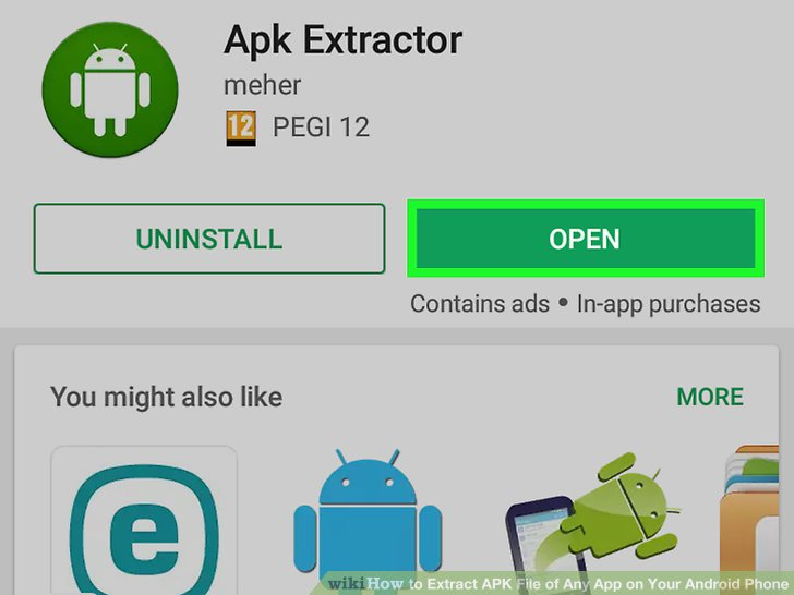 how to extract apk