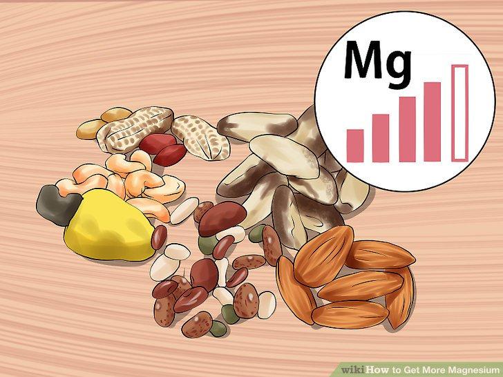 Snack auf Nüssen, Samen und Hülsenfrüchten.
