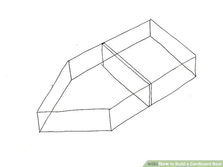 How to Build a Cardboard Boat: 13 Steps (with Pictures