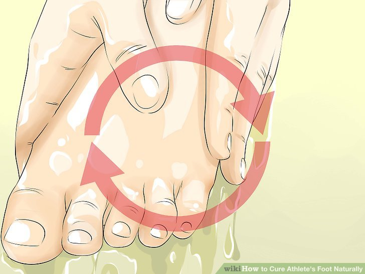 Keep your feet clean.