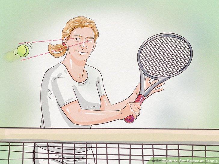 Behalten Sie den Ball immer im Auge.
