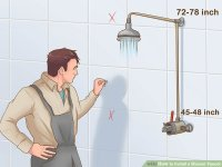 How to Install a Shower Faucet (with Pictures)