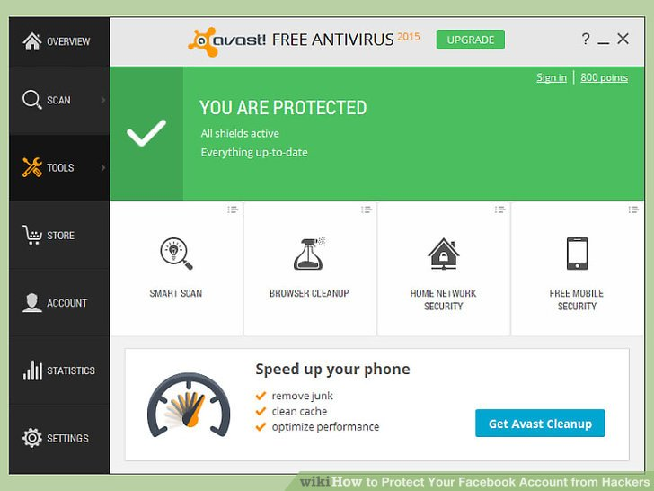 Use up-to-date anti-virus software.
