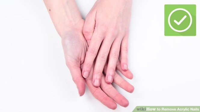 How To Take Off Acrylic Nails Without Breaking Real