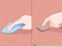 3 Ways to Remove Furniture Dents from Carpet - wikiHow
