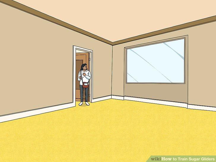 Bewegen Sie sich in einen größeren Raum.