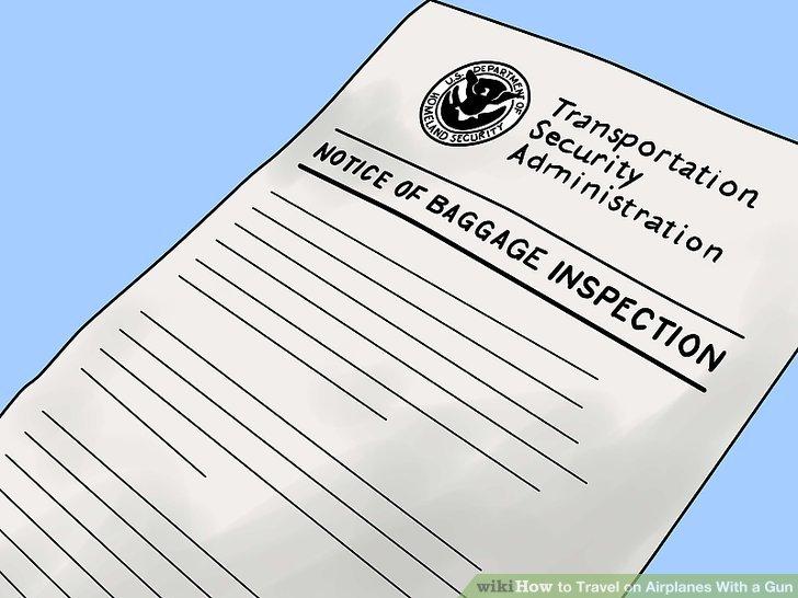TSA inspection is usually pretty cursory.
