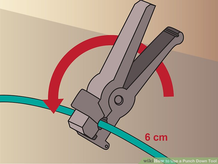 keystone wiring diagram diy guitar diagrams how to use a punch down tool 9 steps with pictures wikihow image titled step 1