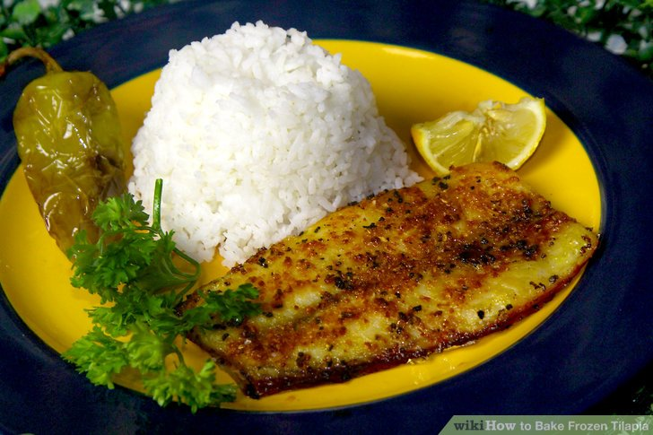 Bake the fish for 20 to 30 minutes.