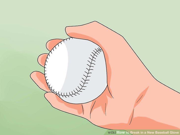 Verwenden Sie einen Baseballhandschuh oder einen Softballhandschuh.