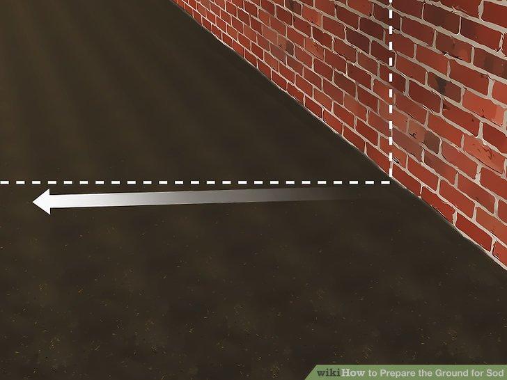Bauen Sie den Boden von allen nahe gelegenen Gebäuden ab.