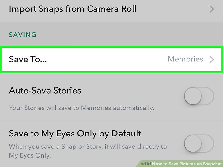 how to save pictures