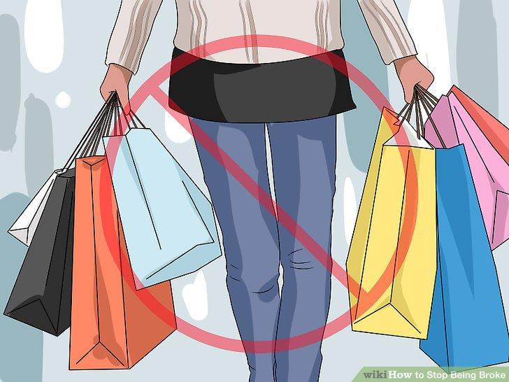 Avoid impulse buys.