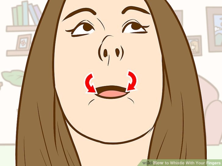 how to wolf whistle diagram ford transit wiring 2007 with your fingers 12 steps pictures image titled step 1